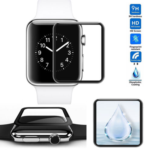 Full Cover Tempered Glass Screen Protector For Apple Watch Series 3/4 38mm/44mm