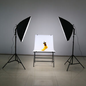 Continuous Softbox Lighting Kit for Photo Video & Product