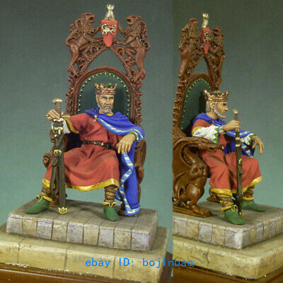 King Arthur Resin Figure 1/32 Scale 54mm Unpainted Model Kits Arthur Pendragon