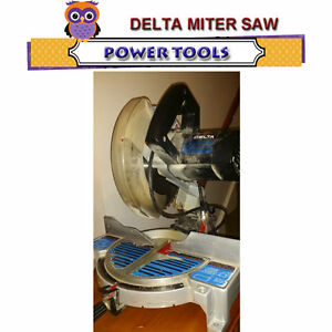 """10"""" DELTA MITER SAW - WORKS WELL AND IN GREAT CONDITION"""