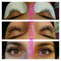 Extensions de cils haute qualité $60 Eyelash extension