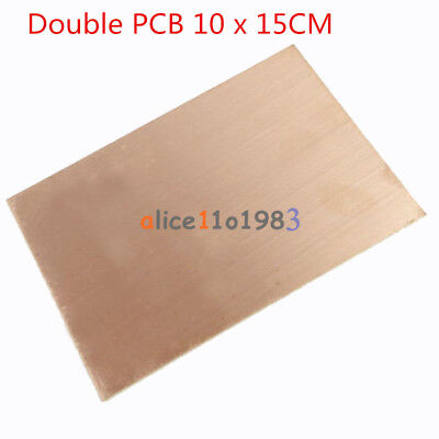 1510pcs 1015cm Fr4 1.5mm Thickness Double Pcb Copper Clad Laminate Board