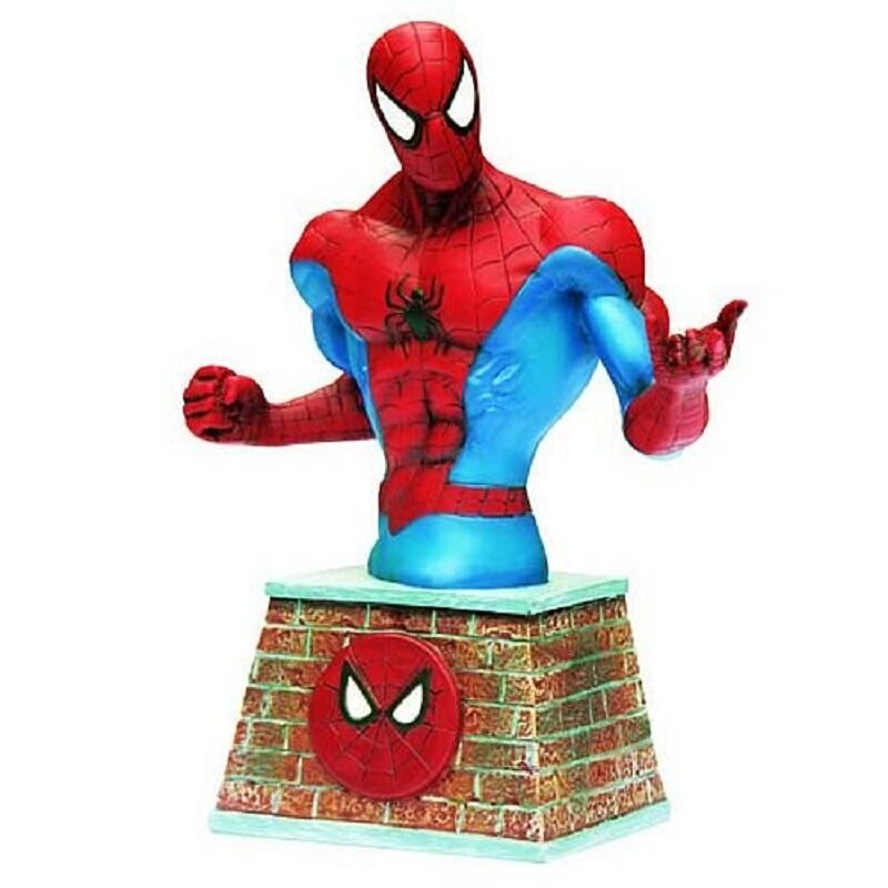 Spider-Man Bust Paperweight Marvel Comics Paperweight Bust