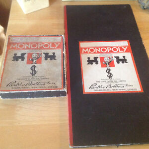 RARE! 1936-1st CANADIAN PATENTED EDITION  MONOPOLY GAME*