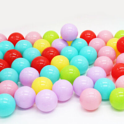 10 Pcs/lot Plastic 5.5 Cm Ball Pits Baby Early Educational Toys Games Sport New for sale  Shipping to Canada