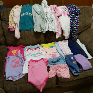 12 months summer clothing for girls.
