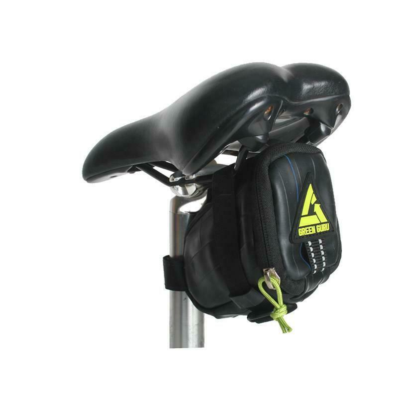 Green Guru- Black Clutch Saddle Bag For Bike/Bicycle - $26.99