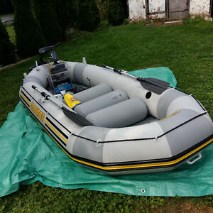Great 1 or 2 Man Fishing Inflatable complete package