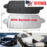 Windshield Cover Snow Ice for Auto Car Frost Guard Winter Protector w/ Suction
