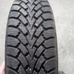 Goodyear snow tires and rims  ( 4 )