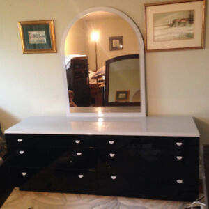 Art Deco lacquered furniture bedroom