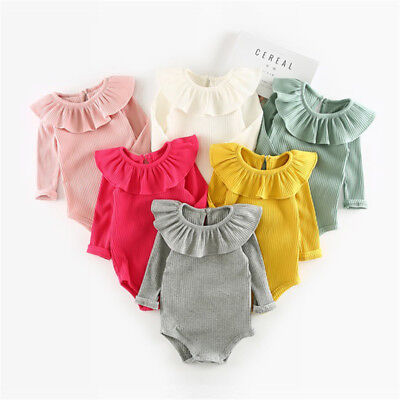 Knitted Rompers For Newborn Long Sleeve Girls Boys Jumpsuit Clothes Kids Outfits (Kids Outfits For Girls)