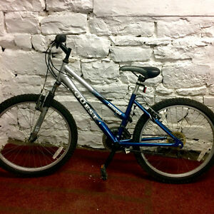 "Quest Omega Unisex 24"" Mountain Bike"