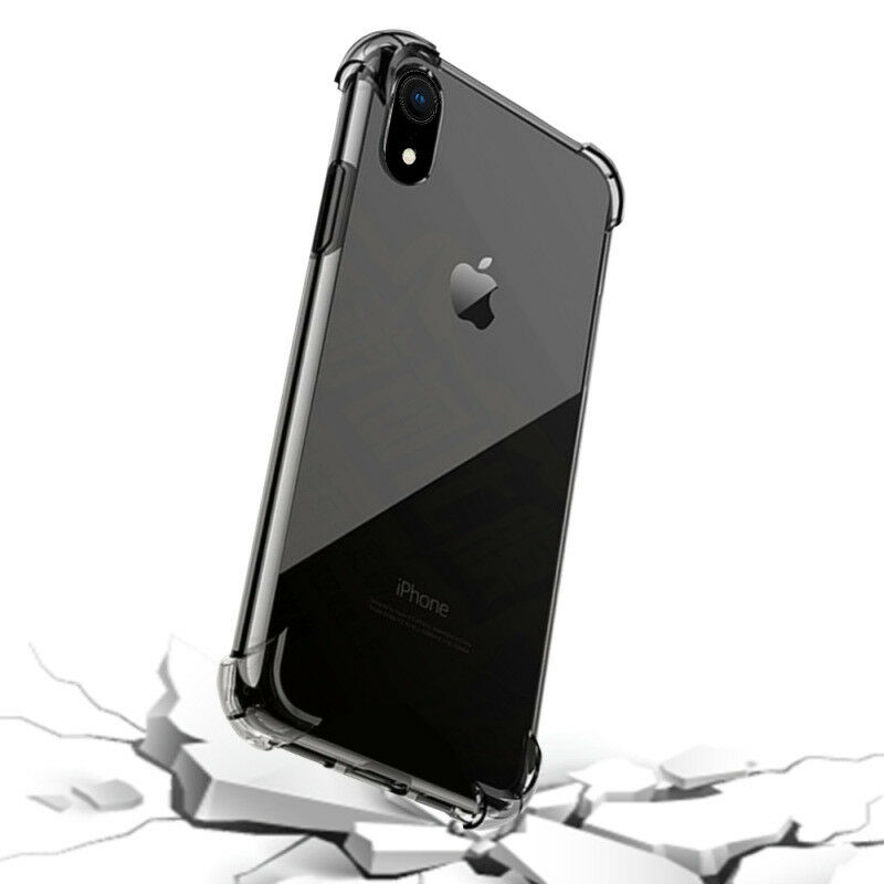 Hybrid Shockproof Clear TPU Hard Bumper Cover Case Fit For iPhone
