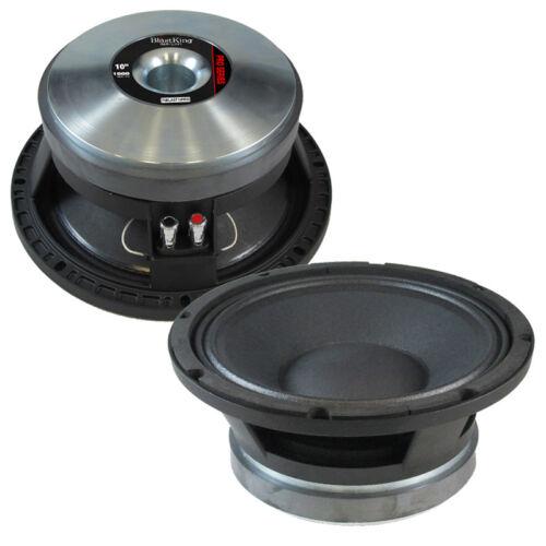 BLASTKING BLAST10PRO Ferrite Magnet Mid-bass Frequency Transducer Speaker 1000W
