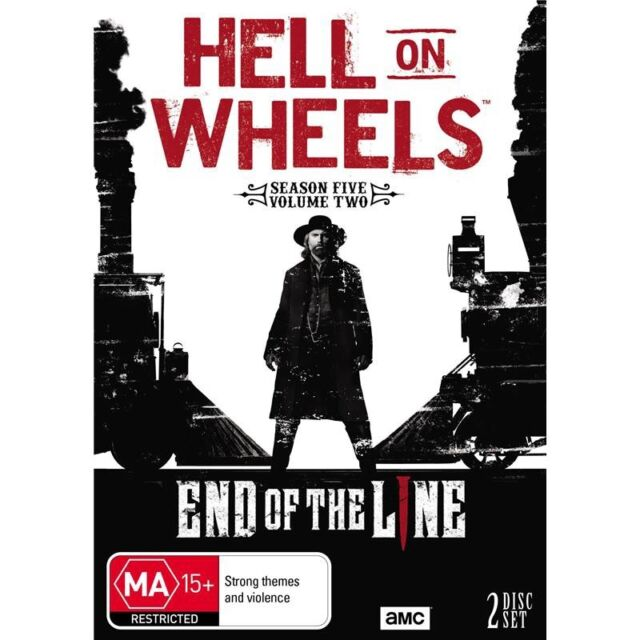 HELL ON WHEELS-Season 5, Volume 2-Region 4-New AND Sealed-2 DVD Set-TV Series