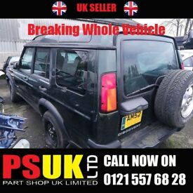 Landrover Discovery (2002) Breaking For Parts