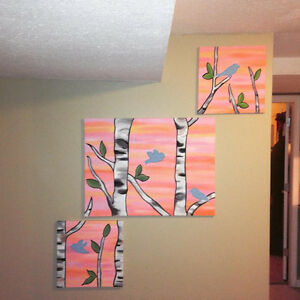 Ultrasound paintings / Nursery Paintings on Canvas! -Westbank