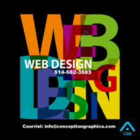 CONCEPTION SITE WEB DESIGN - HÉBERGEMENT 1 AN, MONTREAL 489-