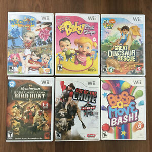 Wii system, accessories & games