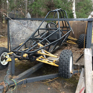 NEW PRICE reduced 500.00 DUNE BUGGY AND TRAILER-one seater