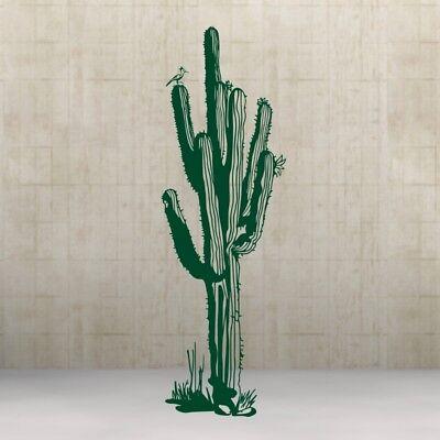 Kaktus Western Kakteen Wall Art Design Sticker Wandtattoo Aufkleber  58 x 185cm