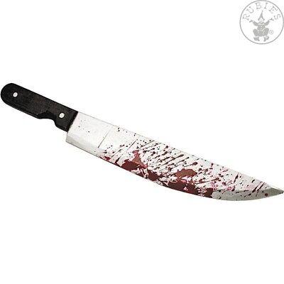 IAL Blutiges Messer 51 cm Karneval Spielzeug blutverschmiertes Machete Halloween