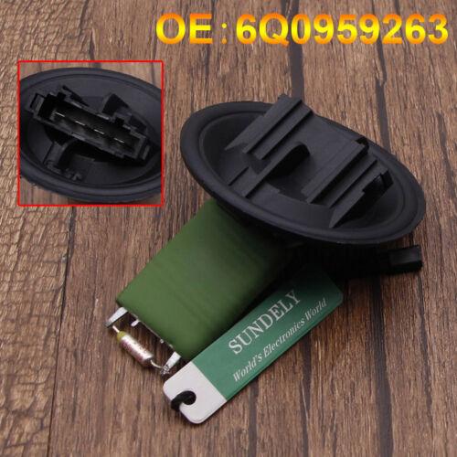SmartSense Heater//Blower Motor Fan Resistor for VW Polo MK4//MK5 9N 6R,Fox 5Z