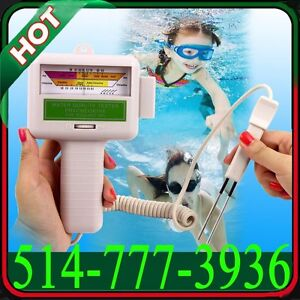 Chlorine PH/CL2 Water Quality Tester Level Meter