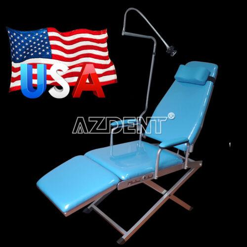 USPS Dental Portable Simple Type - Folding Dental Chair GM-C004 LED Light