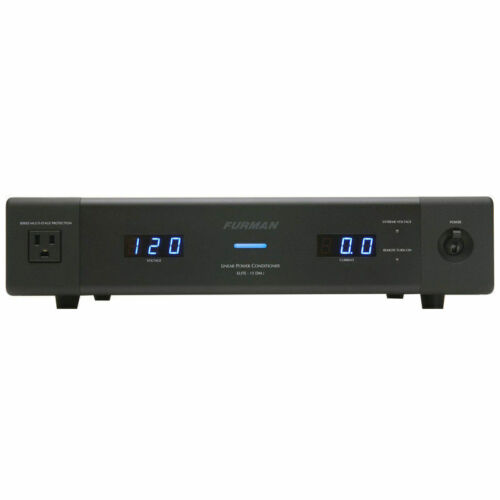 Furman ELITE-15DMI Dual Meter 12-Outlet AC Power Conditioner ELITE15DMI 15 DM I