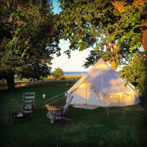 Cavendish Music Festical Boutique glamping