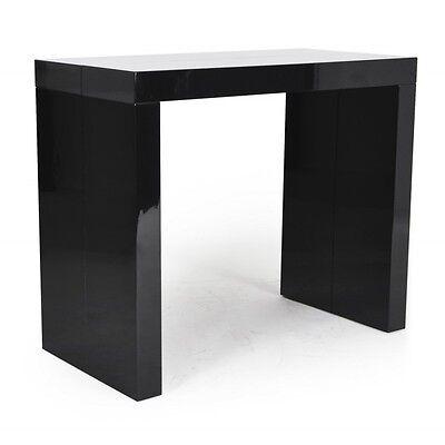 Tavolo consolle allungabile fino a 3 mt nero lucido laccato 14 posti economica