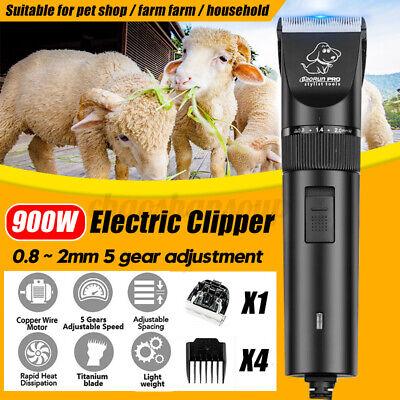 900w Goat Shears Electric Sheep Wool Sissor Shearing Hair Grooming Clippers Farm