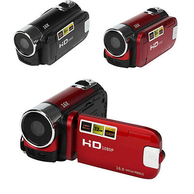 Full HD 1080P 16MP Digital Video Camcorder Camera DV DVR 2.7'' TFT LCD 16x ZOOM