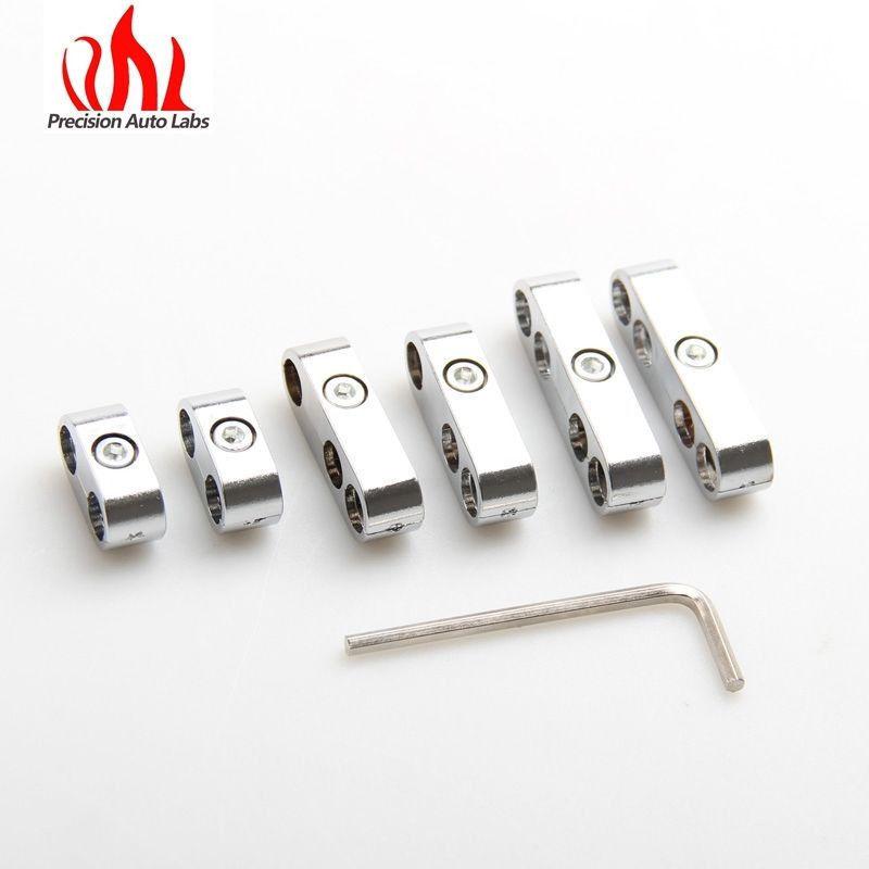8mm Spark Plug Lead Wire Separator Set PRO STYLE Black ignition 4-6cyl V8 clip