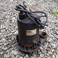 Pompe à eau submersible Flotec Sump pump 1 HP