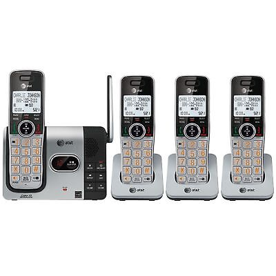 AT&T CL82464 DECT 4-Handset Cordless Digital Answering with Caller ID Announce