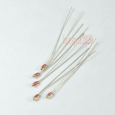10pcs Ntc Thermistor 100k Ohm 1 B3990 Glass Encapsulated For 3d Printer Reprap