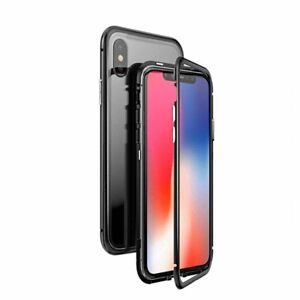 $20 - Full Protective Tempered Glass Back Magnetic Phone Case