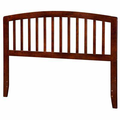 Atlantic Furniture Richmond King Spindle Headboard in Walnut