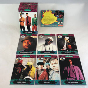 1991 ProSet Yo! MTV Raps 1st Series - Complete Set (100) NM-MINT