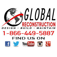Global Reconstruction - New Builds, Custom Builds, Renovations