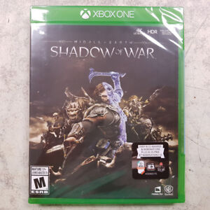 4K Middle Earth Shadow of War Xbox One Game