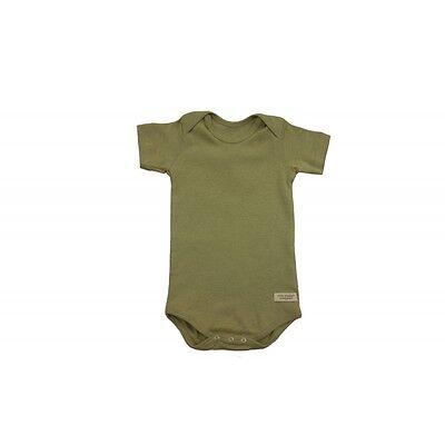 Organic Natural Cotton GOTS Vegan Baby Bodysuit Clothing Best for Allergies