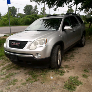 07 gmc acadia SUV ,safety + 3month warranty* included