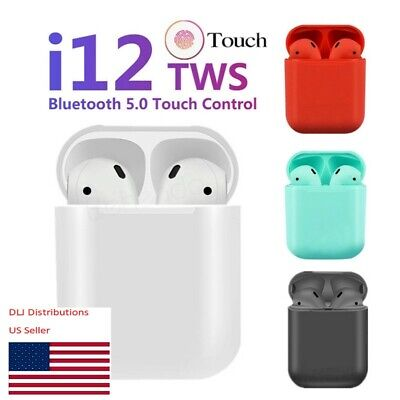 Bluetooth Earbuds White TWS Best Quality Wireless Earphone For IOS and Android