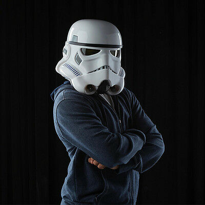 Hasbro Star Wars: Black Series Stormtrooper Helmet Electronic Voice Changer - VG