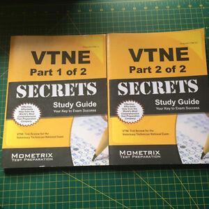 VTNE Vet Tech Study Books