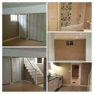 One Bedroom Basement Apartment in Parry Sound
